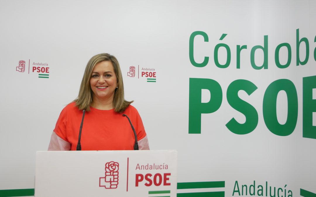El PSOE de Córdoba reclama a la Junta que  incremente los fondos del PFEA