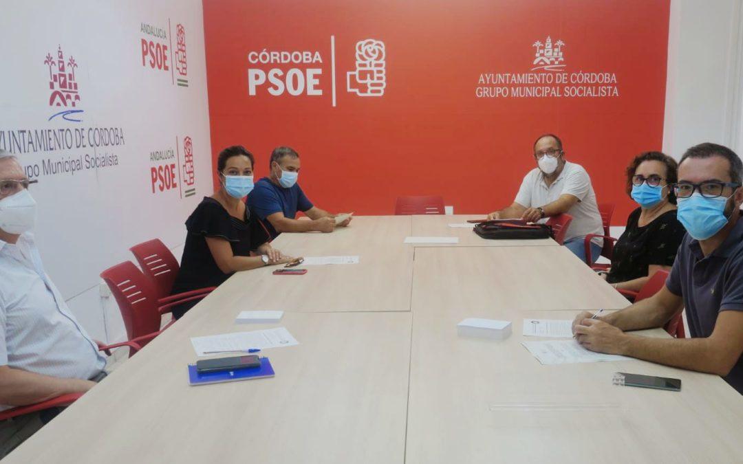 El PSOE exige a Bellido los compromisos con el barrio de la Huerta de la Reina